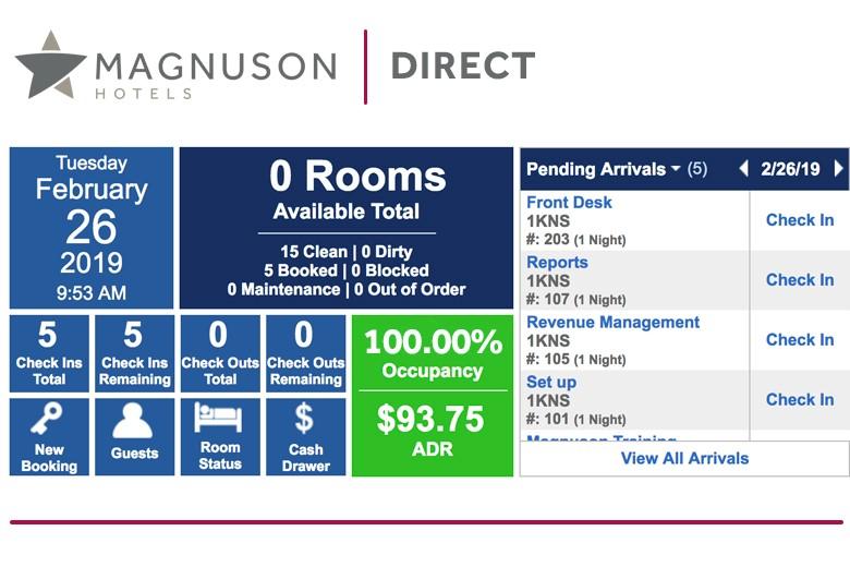 magnuson direct pms